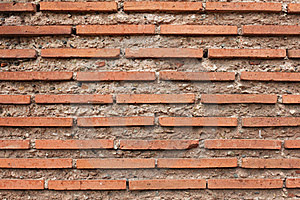 Roman Brick Texture Wallpaper Stock Photo - Image: 18866060