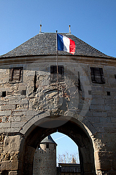 Tower Of The Medieval Castle Royalty Free Stock Photography - Image: 18866627