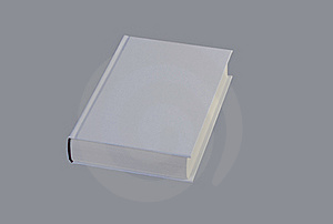 White, Plain Book For Design Layout Royalty Free Stock Images - Image: 18869559