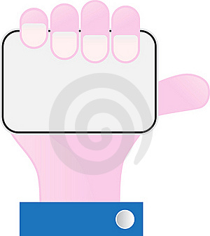 Hand And Credit Card Royalty Free Stock Photos - Image: 18870088