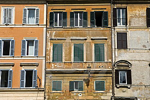Houses, Rome Stock Images - Image: 18872004