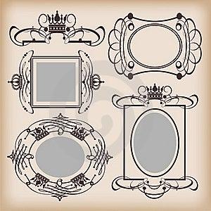 Frames Retro Stock Photo - Image: 18875040