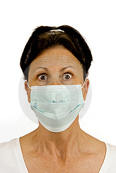Fear Of Germs Stock Photo - Image: 18878700