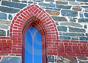 Cathedral Window Stock Photo - Image: 18878920