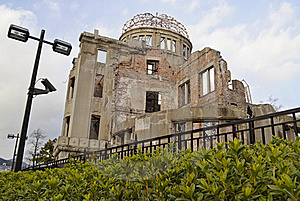 Atomic Bomb Dome In Hiroshima Royalty Free Stock Photography - Image: 18879177
