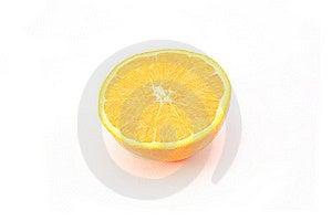 Orange Half Royalty Free Stock Photography - Image: 18879957