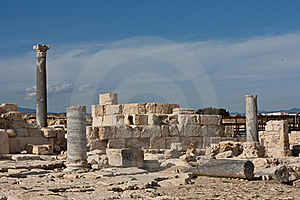 Ancient Ruins In Kourion Place Royalty Free Stock Image - Image: 18885786