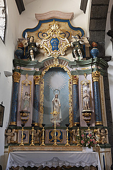 Church Altar Royalty Free Stock Image - Image: 18892006