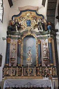 Church Altar Royalty Free Stock Image - Image: 18892006