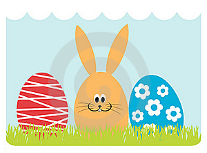 Easter Greeting Card Royalty Free Stock Photography - Image: 18894507
