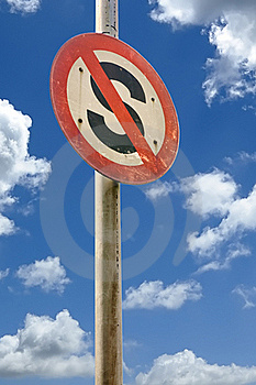 No Stop Sign Stock Photography - Image: 18895562