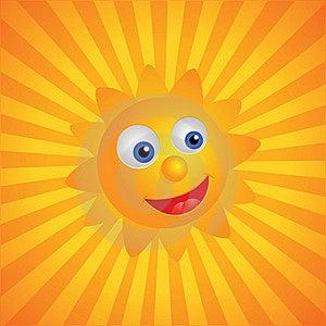 Sunny Background Royalty Free Stock Photography - Image: 18895617