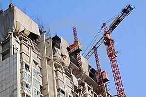 Condominium Apartment Construction Site In Bright Royalty Free Stock Images - Image: 18897019