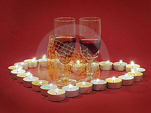 Valentine's Day Background Royalty Free Stock Photo - Image: 1893125