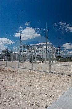 Wind Trubine Power Station Royalty Free Stock Image - Image: 1894226
