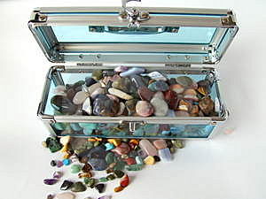 Gem Treasure Chest Royalty Free Stock Image - Image: 1894276