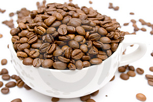 Raw Coffee Royalty Free Stock Image - Image: 1896166