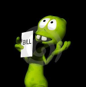 Alien Bill 11 Stock Image - Image: 1896241
