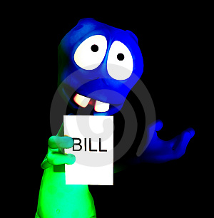 Alien Bill 28 Stock Photo - Image: 1896250