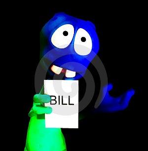 Alien Bill 28 Stock Photo - Image: 1896250