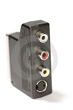 Macro Adapter Royalty Free Stock Images - Image: 1898779