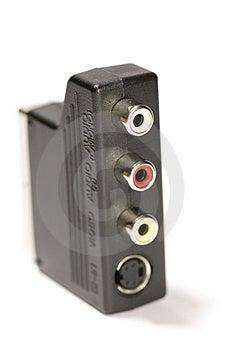 Macro Adapter Royalty Free Stock Images - Image: 1898779