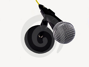 Microphone Stock Image - Image: 1898901
