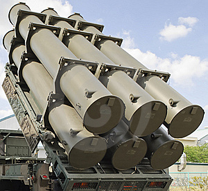 Anti-ship Missiles Launcher Royalty Free Stock Photos - Image: 18903728