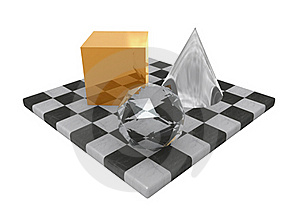 Precious Geometry Royalty Free Stock Image - Image: 18905586