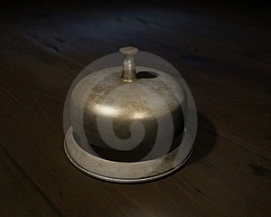 Reception Bell Royalty Free Stock Photos - Image: 18906238