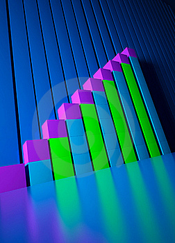 Business Graphics And Forex Indicators Stock Photo - Image: 18906530