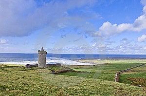 Doonagore Castle Near Doolin - Ireland. Royalty Free Stock Photo - Image: 18906905