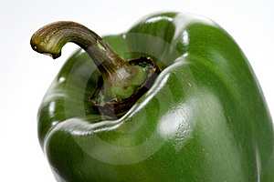 Green Pepper, Closeup Royalty Free Stock Image - Image: 18909936