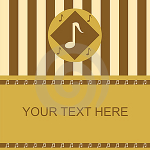 Cute Musical Frame Royalty Free Stock Images - Image: 18912839
