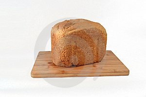 Home Made Bread On Wooden Cutboard Royalty Free Stock Photo - Image: 18913145
