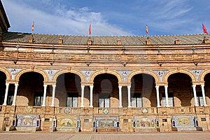 Famous Plaza De Espana Royalty Free Stock Photos - Image: 18913688