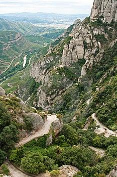 Montserrat, Mountain, Spain Stock Photography - Image: 18913922
