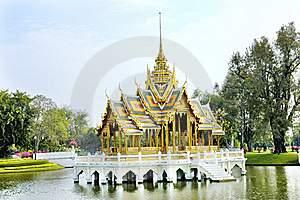 Siam Old Palace Stock Images - Image: 18915294