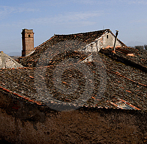 Village  Rooftops Stock Image - Image: 18916061