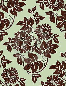 Seamless Floral Background. Stock Photography - Image: 18919232