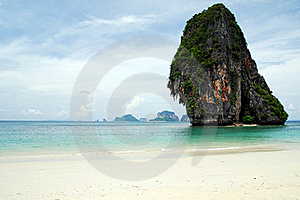 Beach Andaman Sea Thailand Stock Image - Image: 18919661