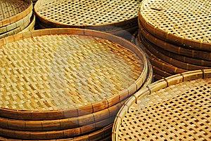 Winnowing Basket Royalty Free Stock Photos - Image: 18920958