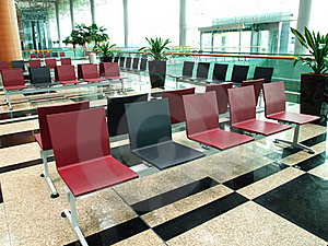 Empty Seats In Lobby Stock Images - Image: 18922194