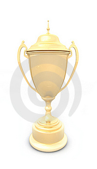 Golden Cup Stock Image - Image: 18922991