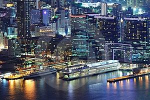 Hong Kong Night View Royalty Free Stock Photos - Image: 18924058