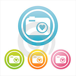 Colorful Photography Signs Royalty Free Stock Image - Image: 18925766