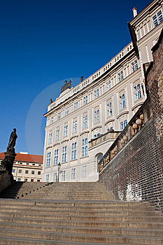 Stairs To The Prague Castle Royalty Free Stock Photo - Image: 18926295