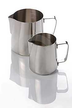 Two Metal Jugs Royalty Free Stock Photo - Image: 18927795