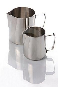 Two Metal Jugs Royalty Free Stock Photo - Image: 18927795