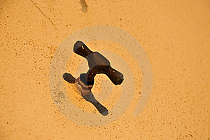 Rusty Water Tap Stock Photo - Image: 18928550